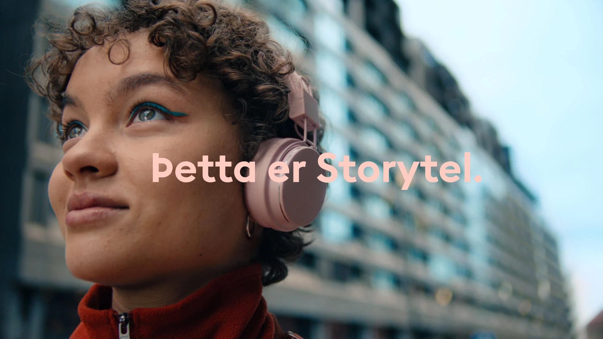 Þetta er Storytel