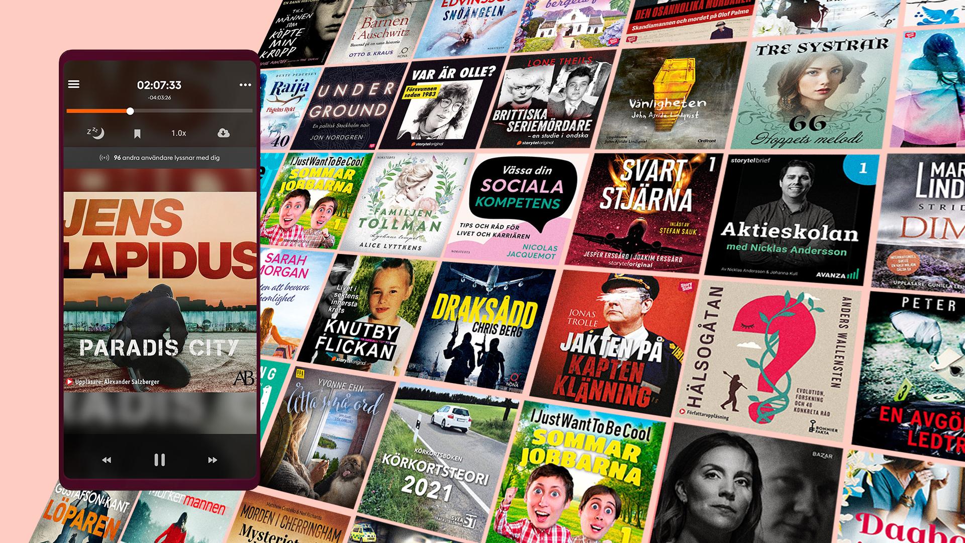 Ljudböcker gratis i 14 dagar