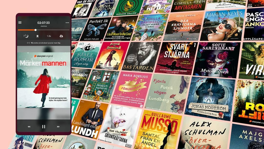 Ljudböcker gratis i 30 dagar