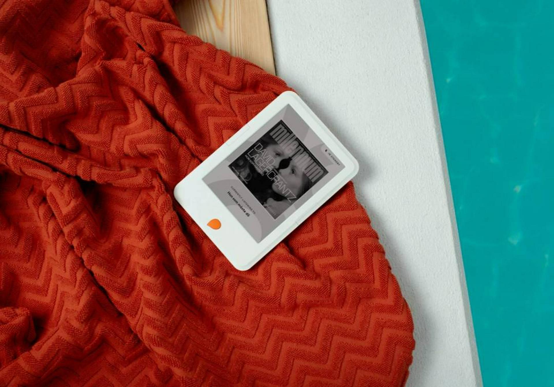 Bild på läsplattan Storytel Reader