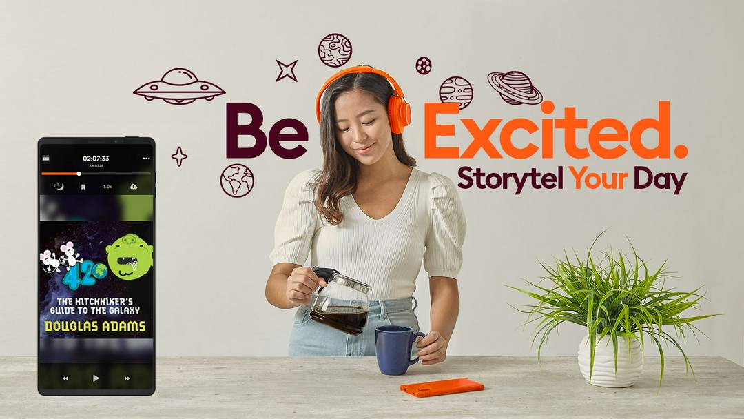 Storytel. Subscribe to Books.